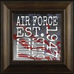 Established Air Force By Todd Thunstedt 20x20 Patriotic Soldier Military Constitution George Washington Lincoln Reagan Eagle West Point F22 Raptor Pilot Framed Art Print Wall Décor Picture ThunderMark Art and Graphics http://www.amazon.com/dp/B014E6YI8A/ref=cm_sw_r_pi_dp_2T54vb0MDGR15