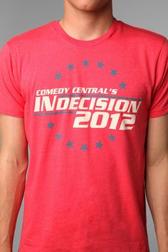 Comedy Central's #Indecision2012 Tee