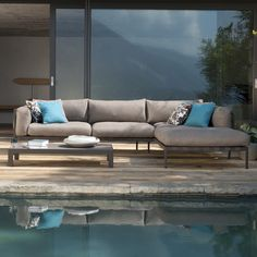 Make your outdoor space relaxing, inviting, and comfortable with an outdoor sofa. Cosh Living stocks a wide range of sofas, get an online quote today! Furniture, Terrace Furniture, Furniture Trends, Outdoor Furniture, Contemporary Garden Furniture, Outdoor Sofa, Outdoor Cushions, Outdoor Sofa Sets, Home Interior Design