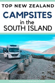 There is no better way to travel New Zealand than by campervan! Read our Ultimate Guide To Campgrounds In South Island New Zealand and start planning your camping New Zealand Road Trip! zealand honeymoon A Guide To Campgrounds In South Island New Zealand Camping New Zealand, New Zealand Travel, Camping Spots, Camping Car, New Zealand Campervan, Bag Essentials, Oregon, New Zealand Adventure, Arizona