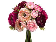 plum wedding bouquets | Ranunculus Wedding Bouquet Pink Plum Purple | Wedding Flowers ...