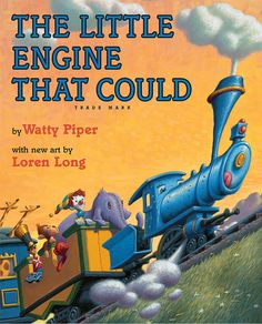 """""""I think I can — I think I can — I think I can."""" Long before Thomas and Percy were unleashed on society, The Little Engine That Could ($18) sputtered her way up the mountain, coming to the rescue of her fellow female engine who had broken down in the midst of an important toy and food delivery. Viva la sisterhood!"""