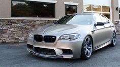 BMW M5 Frozen Cashmere Silver