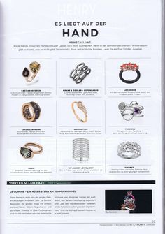 bastian inverun in der Blickpunkt Juwelier September 2016