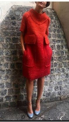 Crochet Dress India Knitted Dress New Look Knit Fashion, Look Fashion, Winter Fashion, Look Boho, Winter Mode, Mode Vintage, Mode Inspiration, Fall Winter Outfits, Sewing Clothes