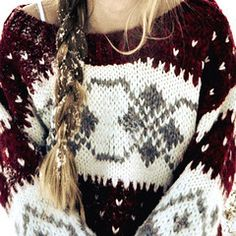 Winter Sweater- so ready for the snow.