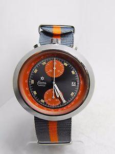chronographe Junghans Bessa Watch Olympic Bullhead 1972 | eBay