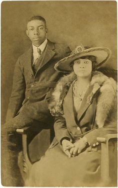 Old Photo African American Couple! - The Graphics Fairy