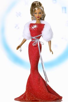 Aries Barbie Doll - Special Occasion - 2005 Zodiac Doll Collection - Barbie Collector