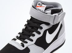 outlet store ef46b ab95d nike air force 1 mid black wolf grey cool grey 01 Nike Air Force 1 Mid