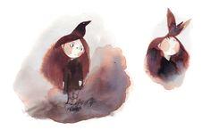 djevojka (ssoja: Some sketches for a future project about...)