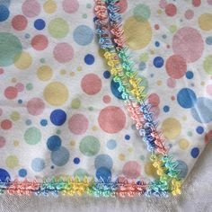With two new grandbabies due in the spring, I have been busy crocheting edgings on flannel receiving blankets. A number of years ago I post...