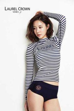 Actress Kim Ah Joong's Rash Guard Shoot 김아중