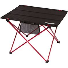 Camping Tables - Trekology Foldable Camping Picnic Table  Portable Compact Lightweight Folding Rollup Table in a Bag  Small Light and Easy to Carry for Travel Beach Camp Hiking Outdoor BBQ Recreation -- See this great product.