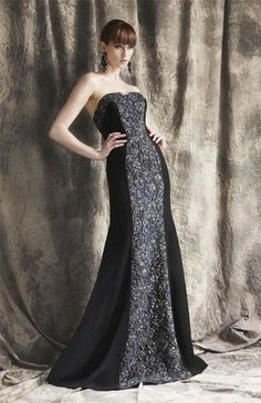 AUTHENTIC Theia Couture 881365 Black Long Evening Mardi Gras Ball Gown Size 8 #TheiaCouture #BallGown #Formal