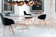 Copper Home Design Ideas Scoop Chair by Tom Dixon