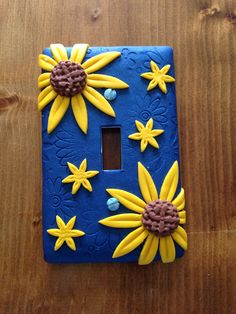 Fimo light switch plate