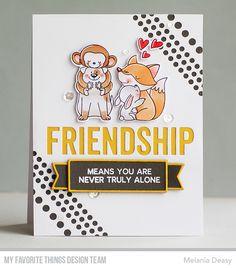 Friend Friendship, Friendship Cards, Point Words, Message Of Encouragement, Outline Images, Banner Images, Mft Stamps, Ink Pads