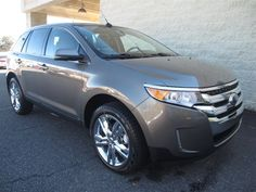 At Paramount Ford, new 2013 Ford Edge Limited, Mineral Gray Metallic, This family-friendly Edge seeks the right match. You win! One of the best things about this Limited is something you can't see, but you'll be thankful for it every time you pull up to the pump, $36,433, after rebates, SOLD!