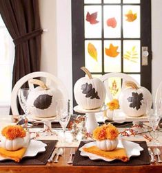 Amazing Pumpkin Centerpieces (2) - family holiday.net/guide to family holidays on the internet