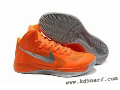 Nike Zoom Hyperfuse 2012 Jeremy Lin Shoes Orange Gray Hot