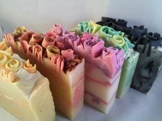 Soap.  I know but they really do look like slices of cake