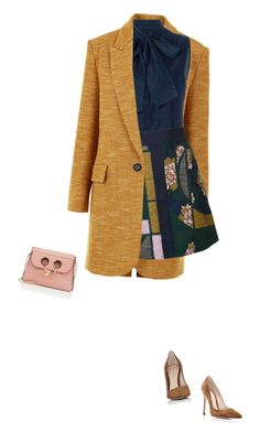 Colorful Winter Coat by carolinez1 on Polyvore featuring Étoile Isabel Marant, Roksanda, Dsquared2, Gianvito Rossi and J.W. Anderson