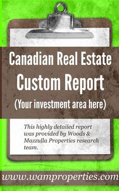 CUSTOM REAL ESTATE REPORT