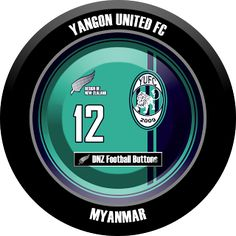 DNZ Football Buttons: Yangon United FC                                                                                                                                                                                 Mais