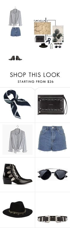 """""""#coachella"""" by nudenim on Polyvore featuring Mode, Mulberry, Givenchy, Madewell, Topshop, Toga, ASOS und B-Low the Belt"""