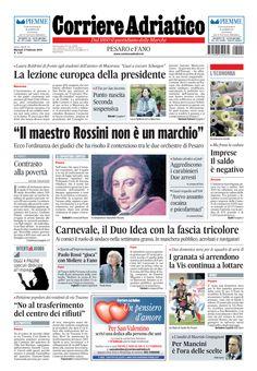 Corriere Adratico - ed. cartacea - 2 febbraio