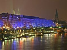 Ночной Бремен.Deutschland.