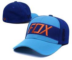 8b7f2c6ee24 Men s   Women s Fox Racing Maneuver Moto x Fox Flexfit Adjustable Hat -  Cyan   Blue   Orange