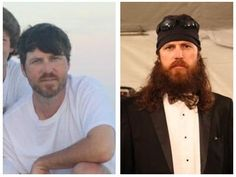 To Beard or Not To Beard…. That is the question. Jase Robertson.  Beard...definitely beard, right girls? Definitely***