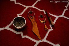Desert Sands    Handmade  brass hoop brown by thegypsiescaravan