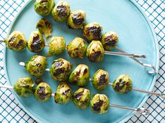 Alton's Grilled Brussels Sprouts