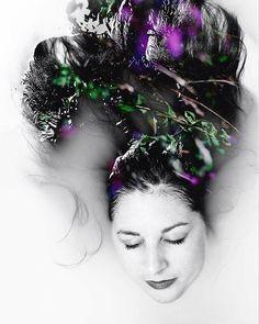by valanais / val_anais: #portrait #photographie #modeling #myself #photographe #unstudio #uneternal #bath #hair #velvet #naturevelvet,hair,bath,modeling,myself,photographie,portrait,unstudio,nature,photographe,uneternal.  location: . date: 1508522345