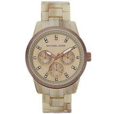 Michael Kors Ritz Horn Chronograph Women's Watch MK5641 Original Brand New