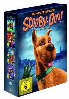 SCOOBY-DOO - Monsterpack - Die 4 Spielfilme - 4 DVD's - Box - NEU + OVP - RARsparen25.com , sparen25.de , sparen25.info