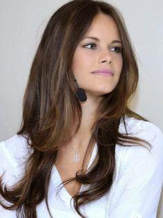 cortes de pelo modernos para mujeres jovenes largo en capas cortes modernos pinterest