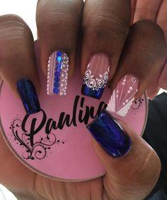 French Manicure Nail Designs, Nail Tip Designs, Nail Games, Nail Tips, Pretty Nails, Hair Beauty, Nail Art, Makeup, Nail Ideas