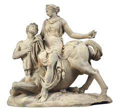 The Rape of Deianira by the Centaur Nessus Greek Pantheon, Angel Statues, Ancient Artifacts, Best Artist, Mythical Creatures, Ancient History, Fantasy, Sculpture Art, Art Drawings