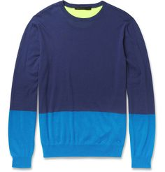 Marc by Marc JacobsSilk and Cotton-Blend Sweater MR PORTER