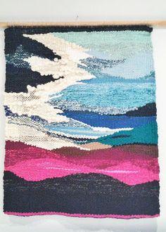 n a t a l i e m i l l e r: tapestry weaving