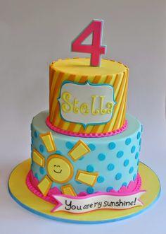 You Are My Sunshine Cake, Hope's Sweet Cakes