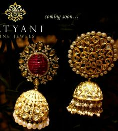 My luv for jhumkas