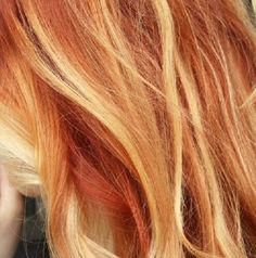 multicolor red and blonde highlights - multicolor red and blonde highlights - Copper Hair With Highlights, Copper Red Hair, Natural Red Hair, Blonde Highlights, Copper Blonde, Hair Lights, Light Red Hair, Dark Red Hair, Red Blonde Hair