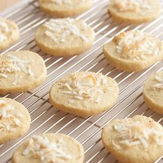 It's quick and easy to mix together these slice-and-bake almond-coconut cookies whenever you need something sweet to snack on. #hearthealthy