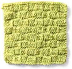 Stitch Gallery - Simple Basketweave   Yarn   Knitting Patterns   Crochet Patterns   Yarnspirations