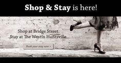 Bridge Street is North Alabama's premier lifestyle shopping center! It features over 70 upscale shops and restaurants, Westin Huntsville Hotel, and 14-screen Monaco Pictures.